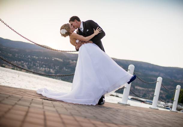 Wedding Boardwalk Dip