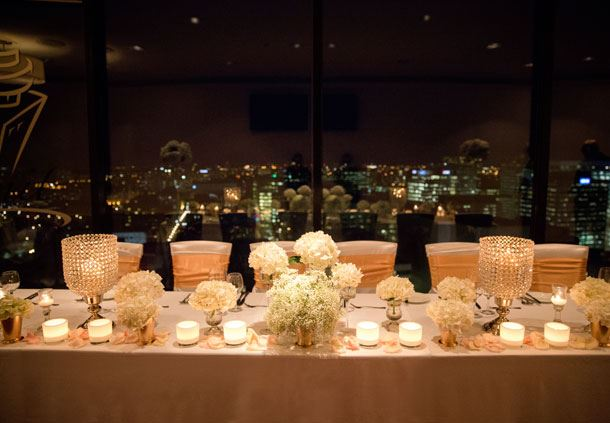 Summit Revolving Room - Night View