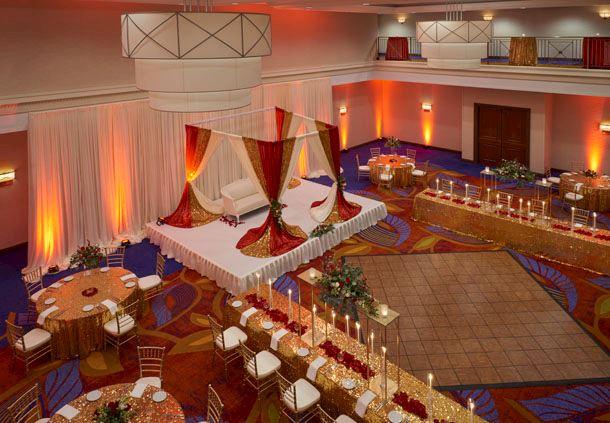 Victoria Ballroom - Reception Setup