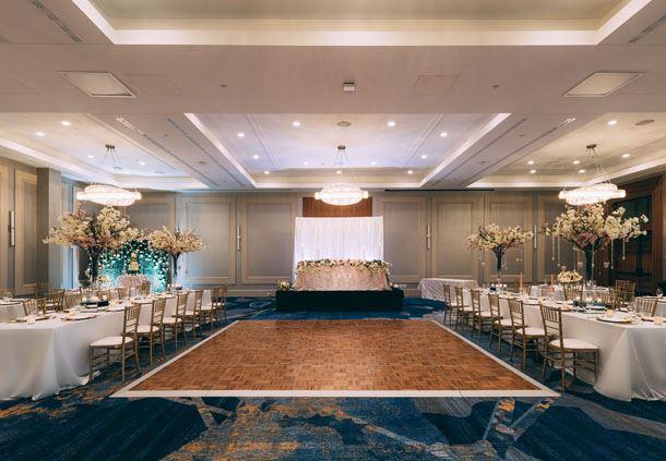 Superior Ballroom - Wedding Reception Setup