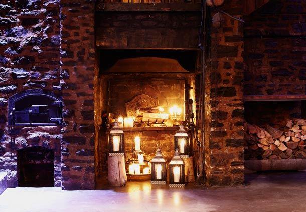 The Truteau's Fireplace
