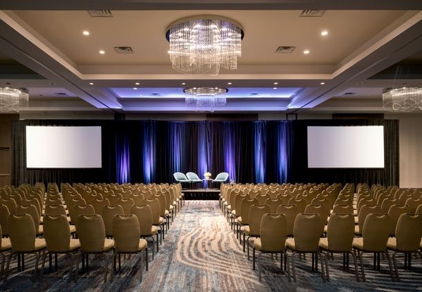 Pinnacle Ballroom - Theater Setup