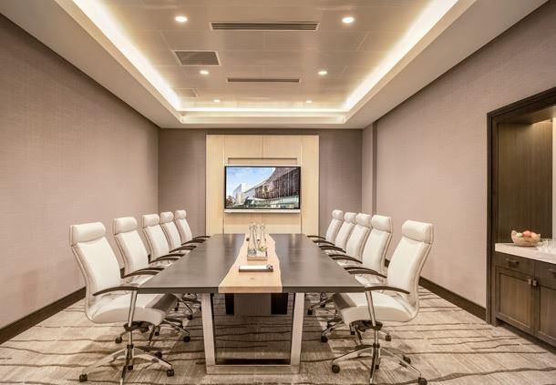 Oak Boardroom