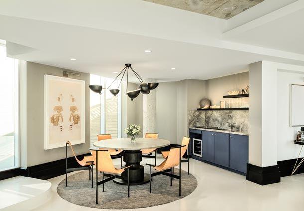 The Loft Suite - Dining Area