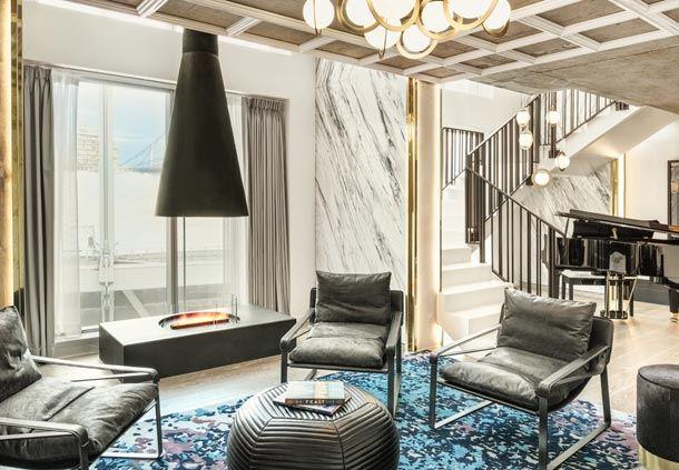 The Loft Suite - Living Area