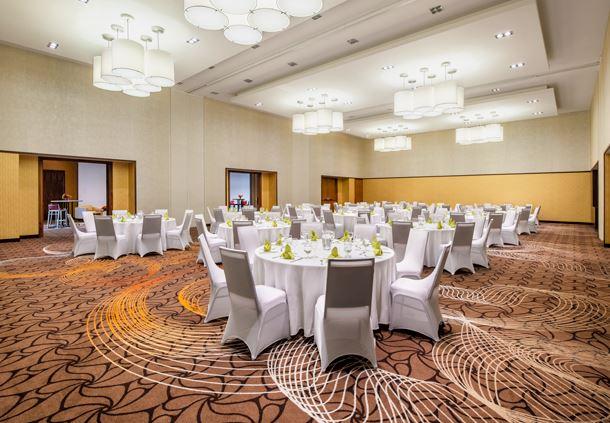 Stampede - Wedding Reception Setup