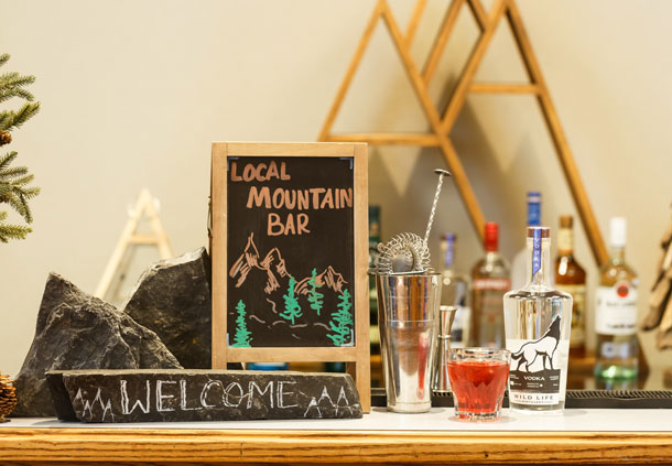 Meeting Catering - Rocky Mountain Bar