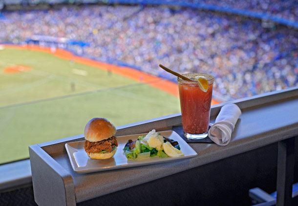 Food with Stunning Views
