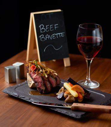Charred Beef Bavette