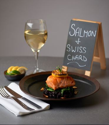 Salmon & Swiss Chard