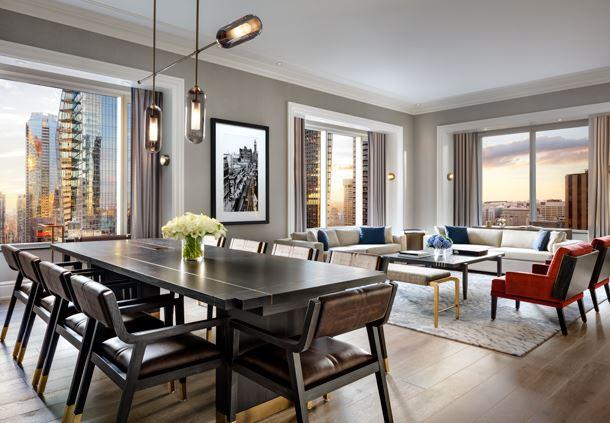 John Jacob Aster Suite - Living Room