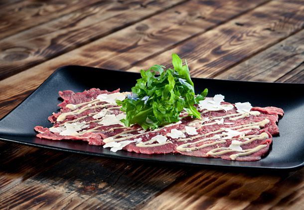 Carpaccio of Premium Black Angus Filet