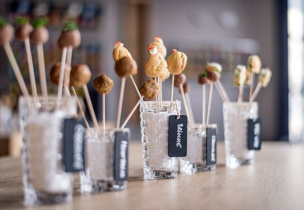 Savory Food Pops
