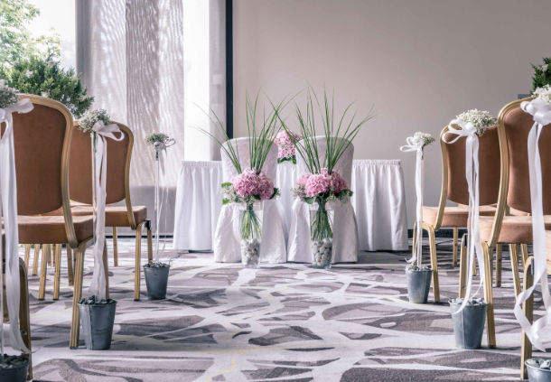 Studio 1 - Private wedding ceremony