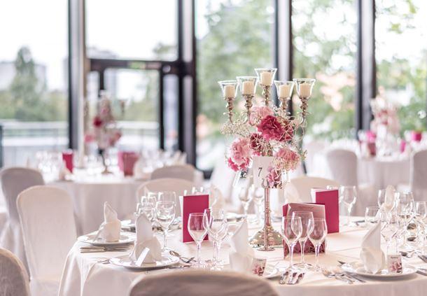 Century Ballroom - Wedding Table setup
