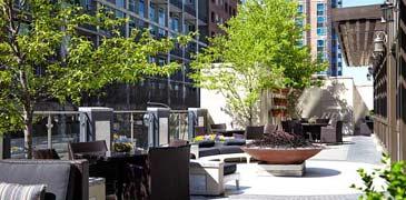 Atlanta wedding reception sites at Rooftop 866