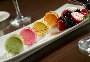 Colorful Macaroons at Nox Creek Southern Grill