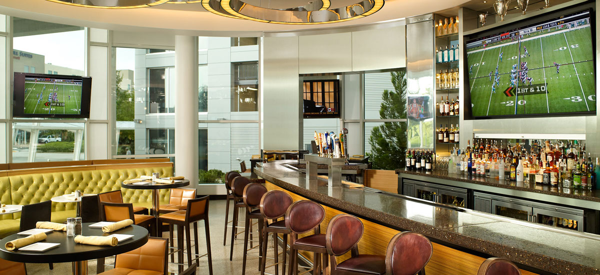 Sports Bars Near Atlanta Airport Atlanta Airport Marriott