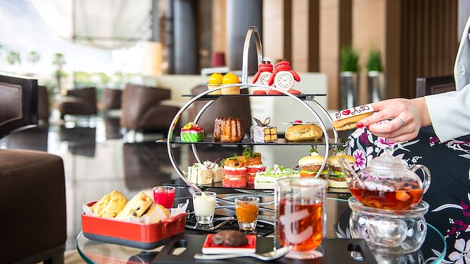 Afternoon Tea at the Lobby Lounge