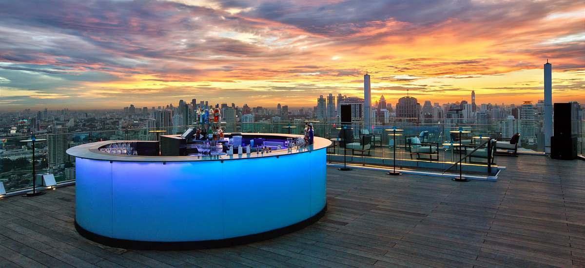 Octave Rooftop Lounge & Bar | Bangkok Hotel Restaurants at ...