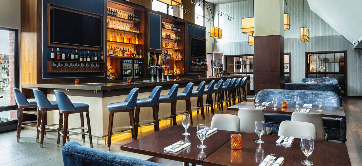 Boston Harbor Restaurants Boston Marriott Long Wharf