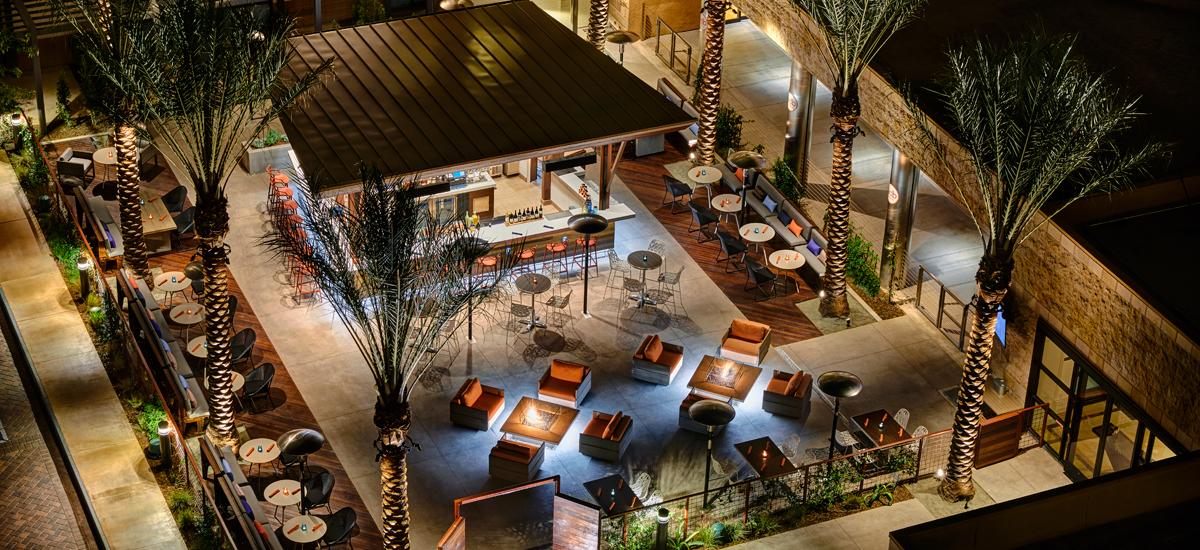 Restaurants Near Bob Hope Airport Los Angeles Marriott