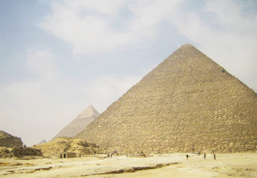Historic Egyptian pyramids