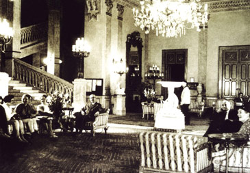 Cairo palace interior