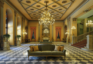 Historic Cairo palace restoration