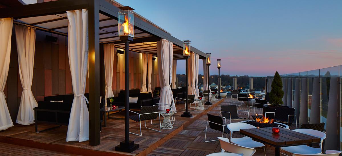 Rooftop Bar And Restaurant Dublin Ac Hotel Columbus Dublin