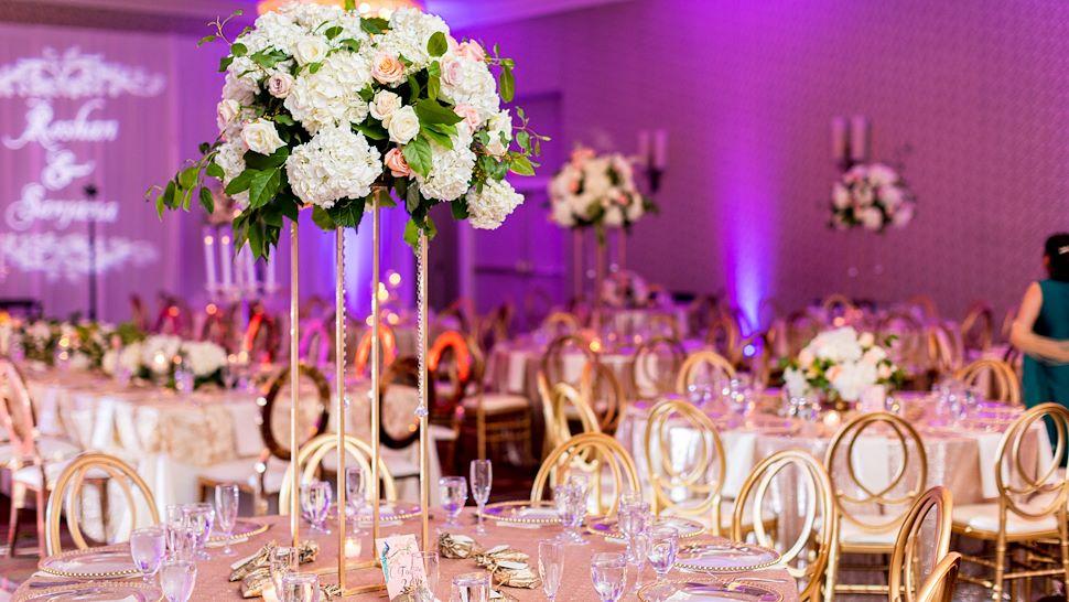 Roy E. Wilbanks Ballroom Wedding Reception