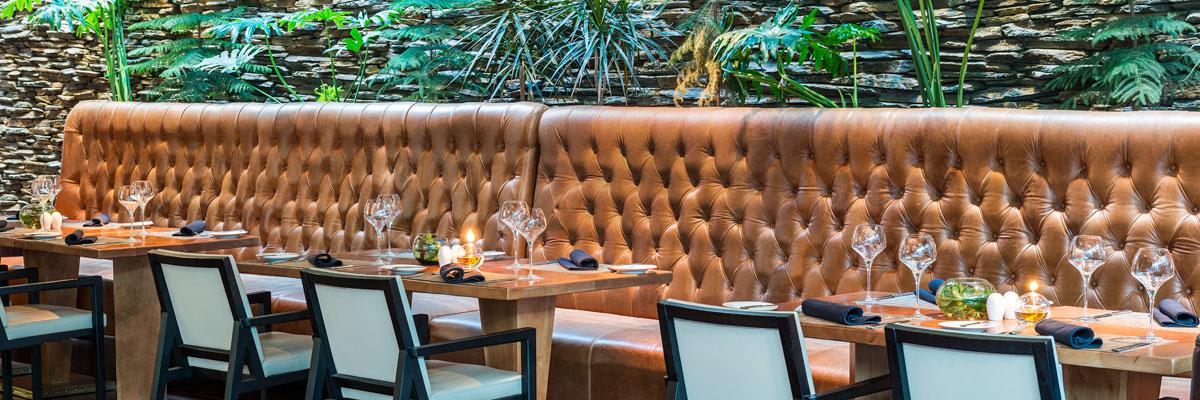 Restaurante Catae - Comedor al aire libre