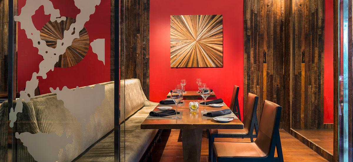 Restaurante Catae - Sala privada