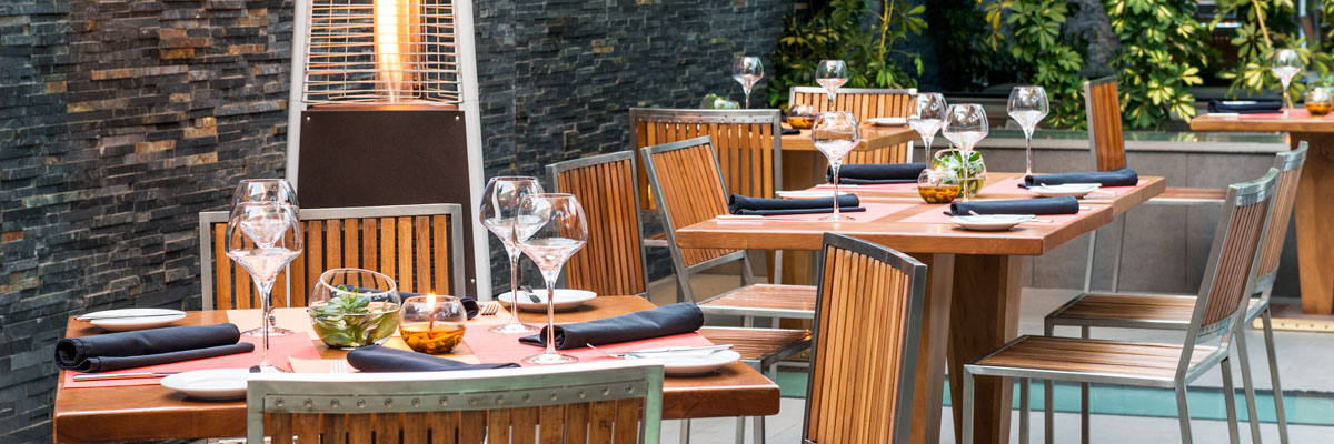 Restaurante Catae - Terraza