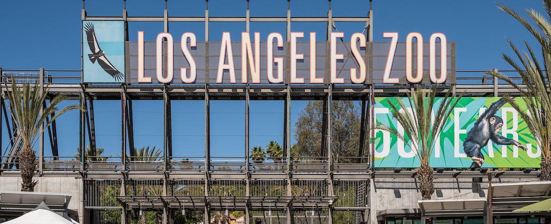 LA Zoo Entrance