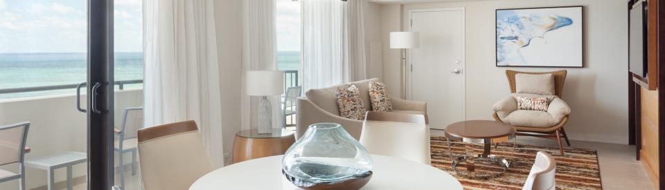Fort Lauderdale beachfront hotel amenities.
