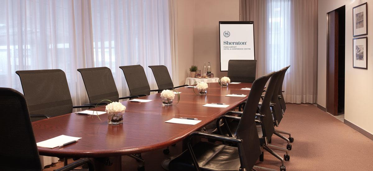 Vue d'ensemble des événements et réunions d'affaires
