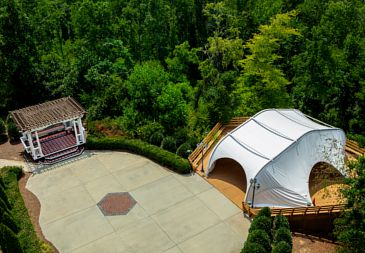 Outdoor wedding venues Greensboro.
