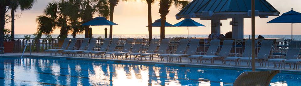 Hilton Head Island resort pool