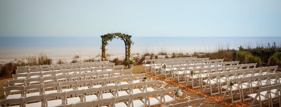 Hilton Head Island outdoor wedding.