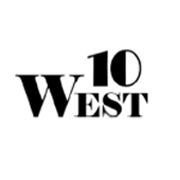 10 WEST Logo