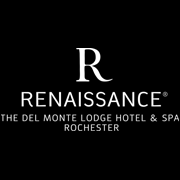 The Del Monte Lodge Renaissance Rochester Hotel & Spa Logo