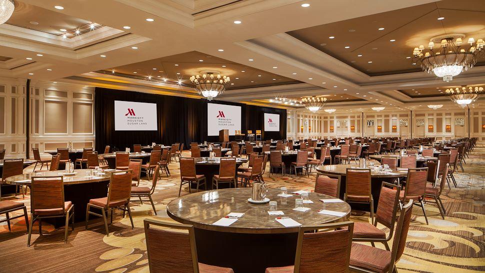 Sugarland Ballroom in Banquet Setup