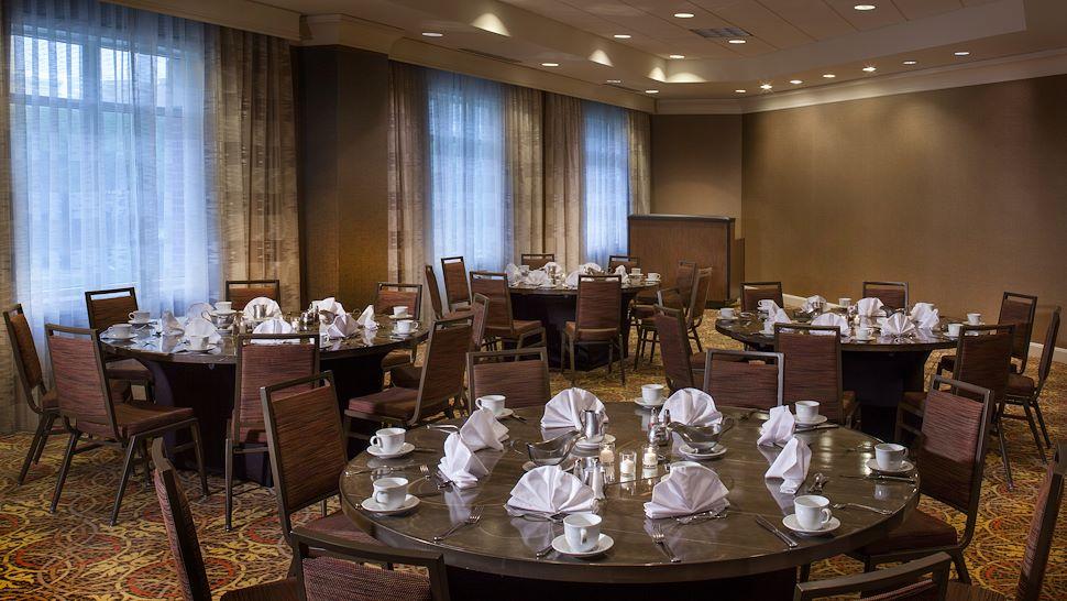 Bluebonnet Meeting Space in Banquet Setup