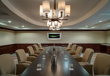 Golf resort meeting room