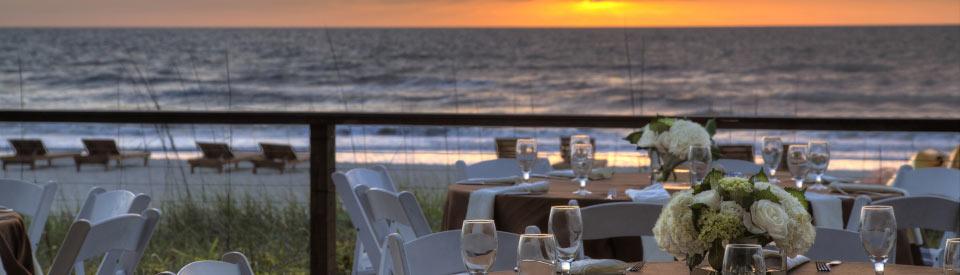 Florida resort outdoor meeting space