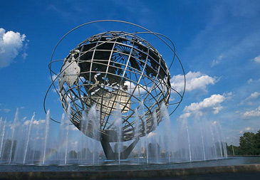 Corona Park Unisphere in Queens