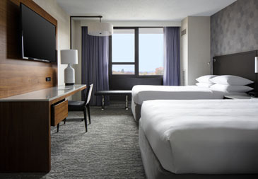 Hotel room near LGA