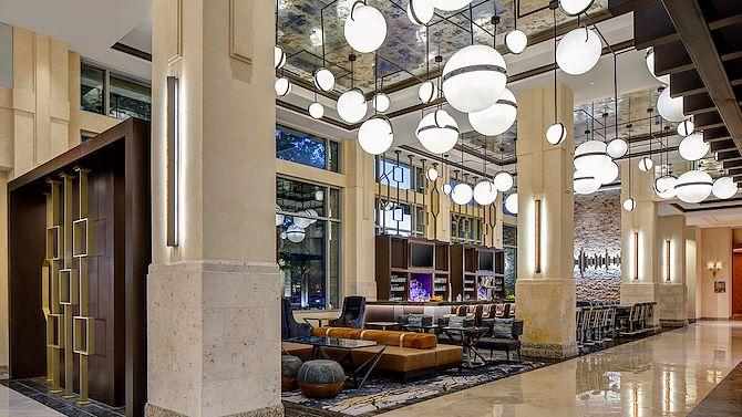 rustic jewel lobby shot