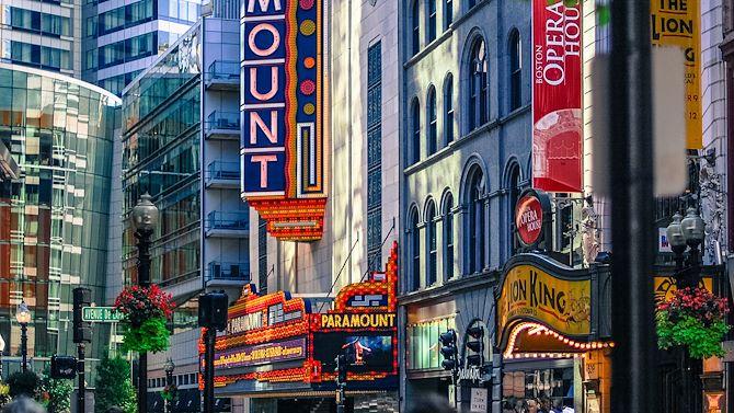 Boston Theater District